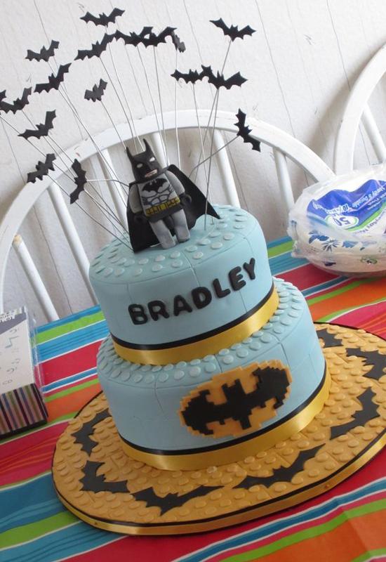Le gâteau Lego Batman
