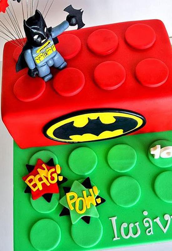 Le gâteau Lego BD