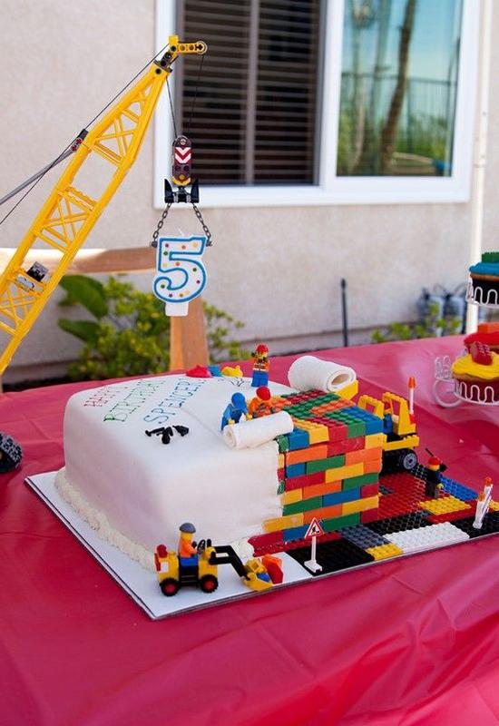 Le Gâteau Lego Chantier Momesnet