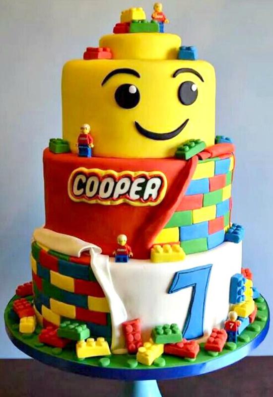 Le G 226 Teau Lego Qui Sourit Momes Net