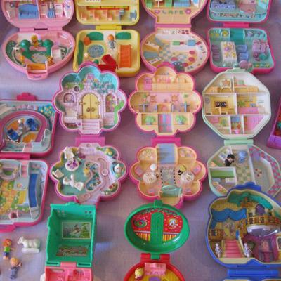 les polly pocket reviennent jouets des années 90