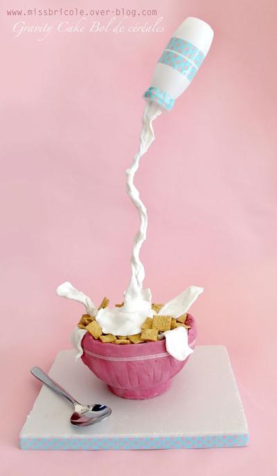 Le Gravity Cake bol de céréales