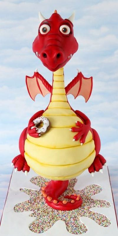 Le Gravity Cake Dragon