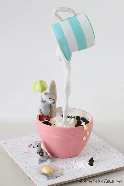 Le Gravity Cake les ptites souris
