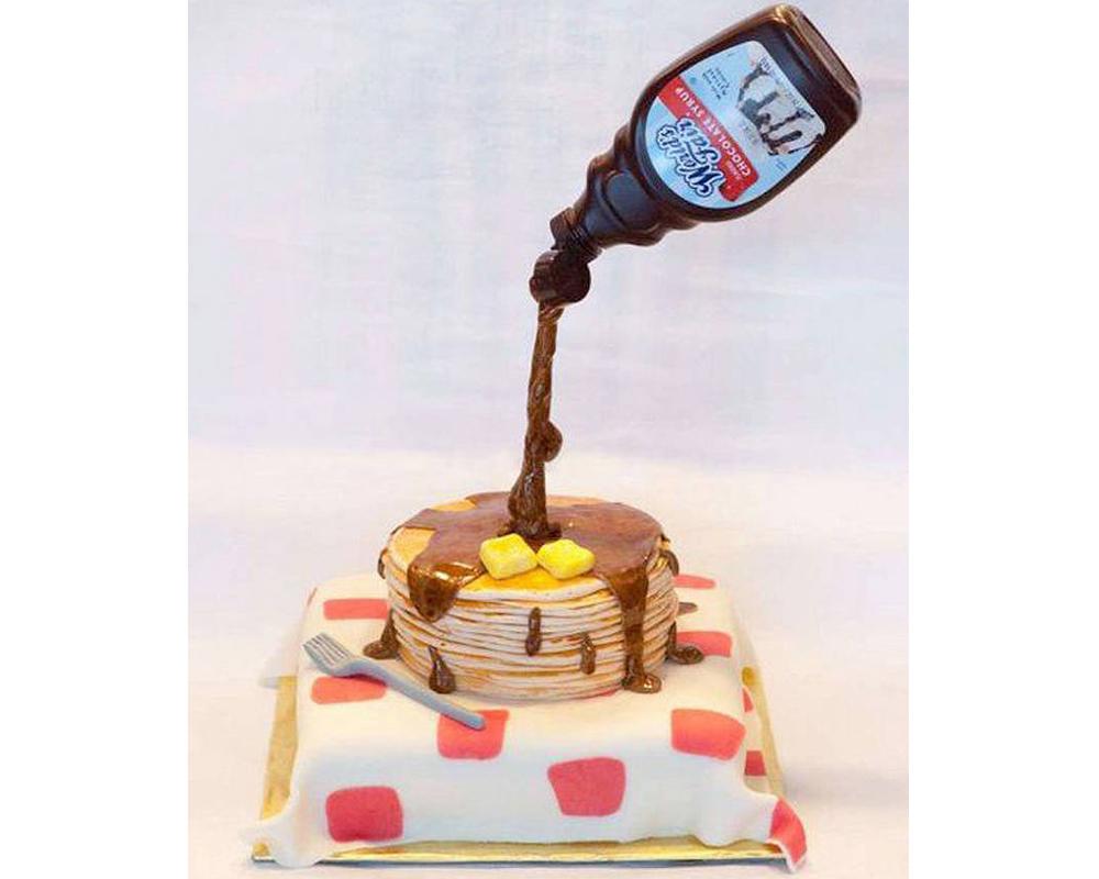 crêpes rigolotes gravity cake chandeleur mardi gras carnaval