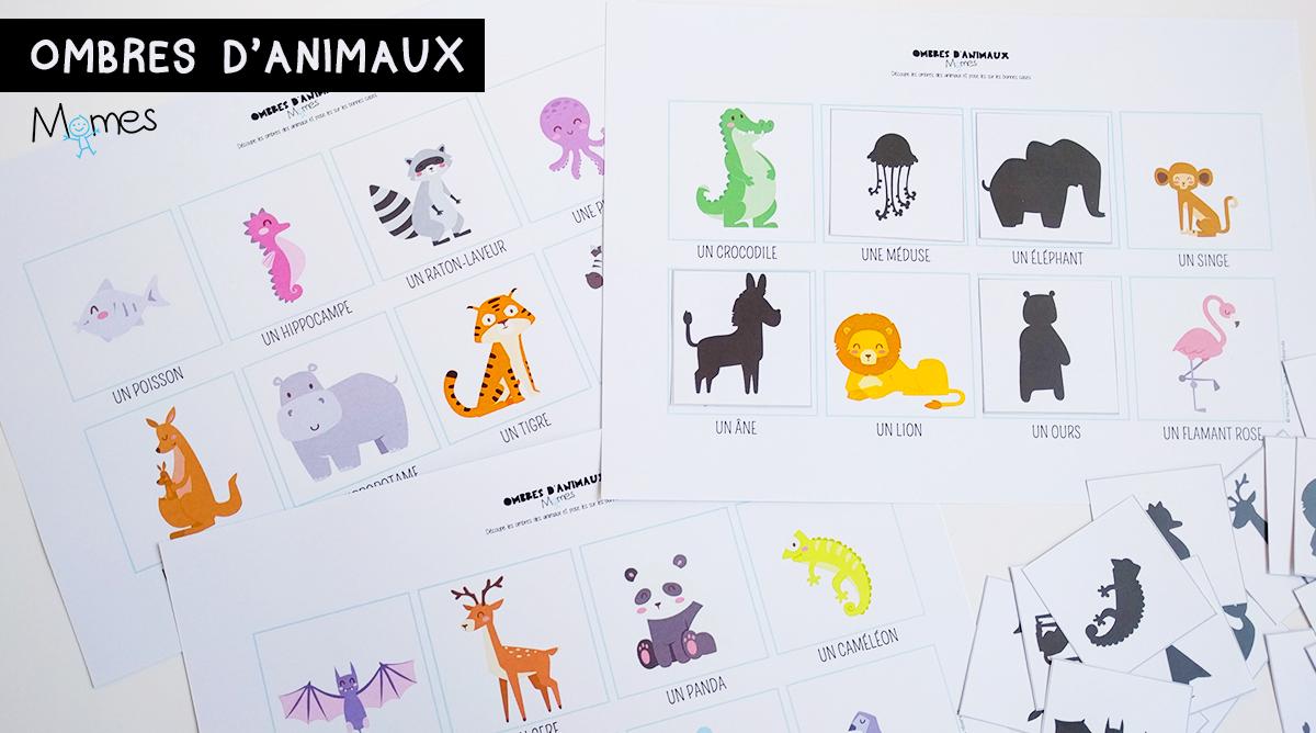 le jeu des ombres d 39 animaux. Black Bedroom Furniture Sets. Home Design Ideas