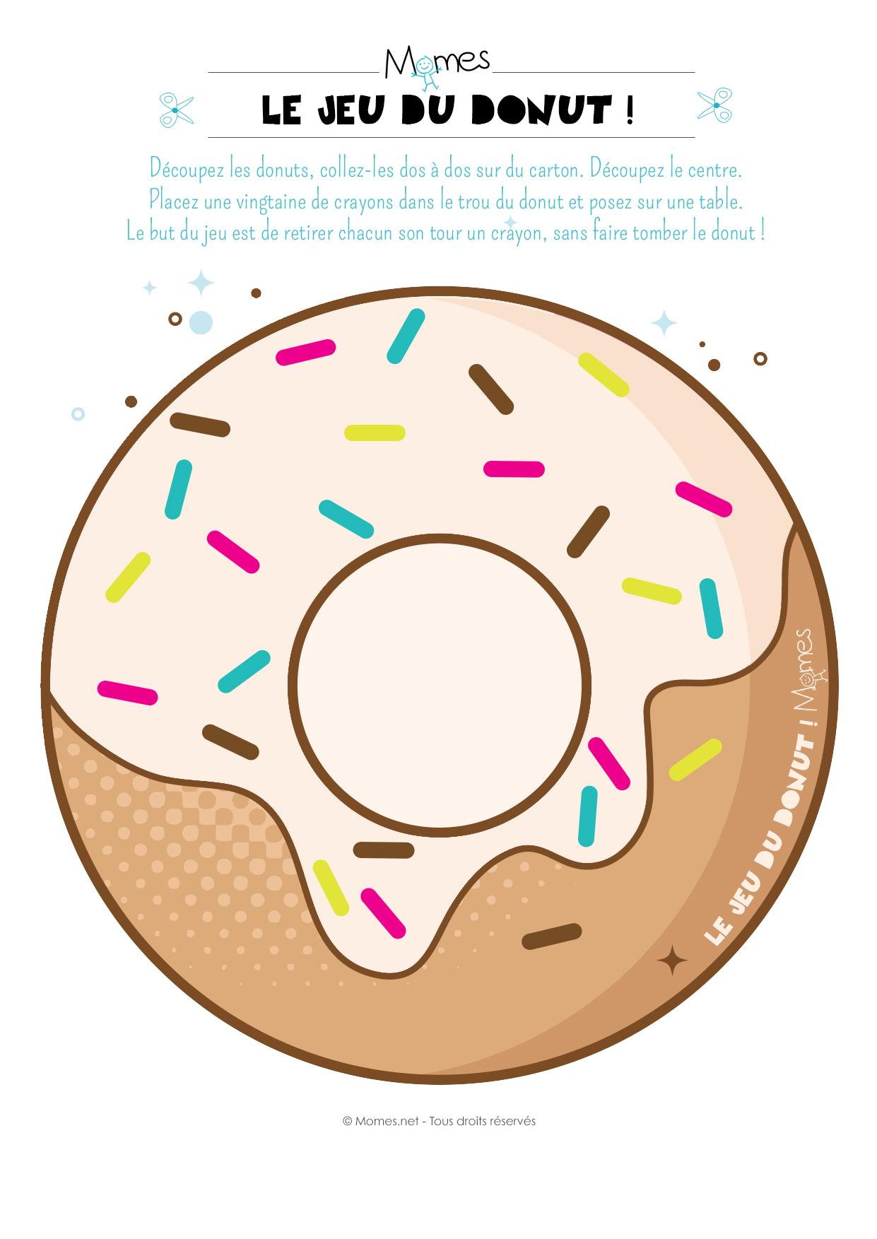 dessin de donut