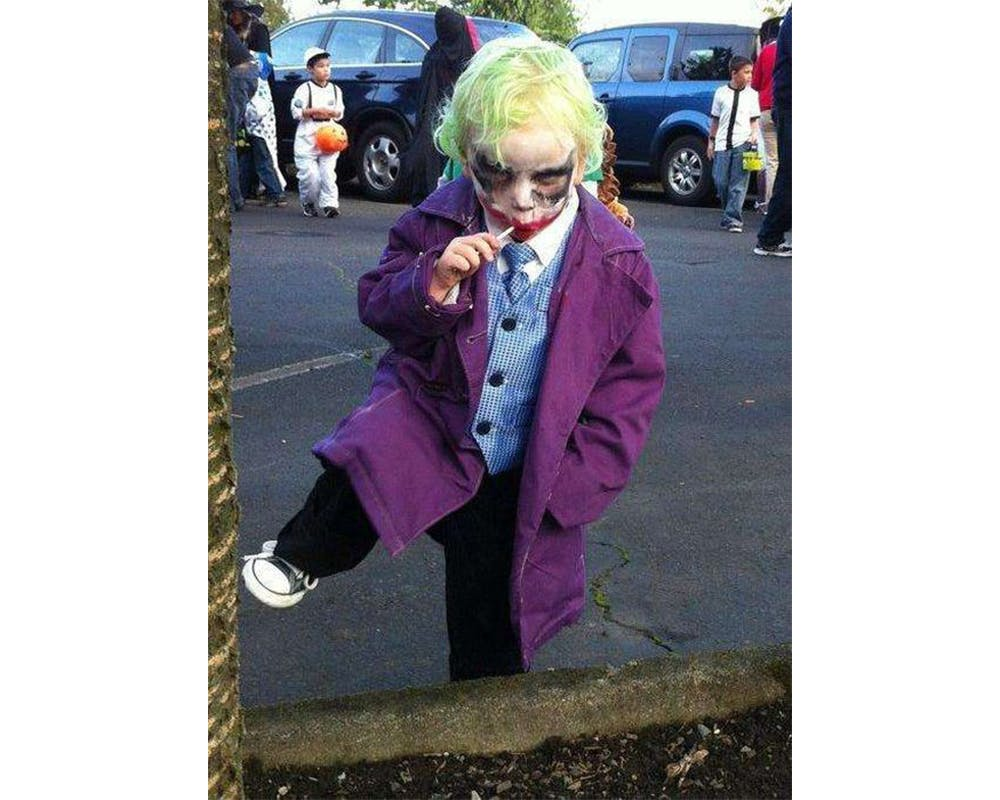 Le Joker Batman déguisements costumes Halloween enfants