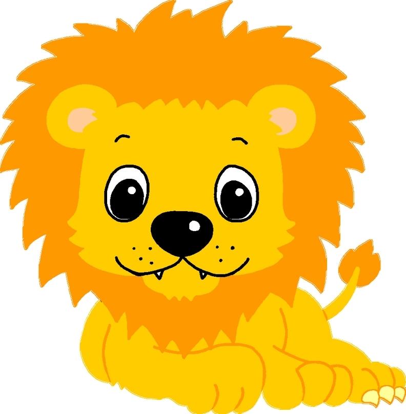 Le lion et la gazelle - Tete de lion dessin facile ...