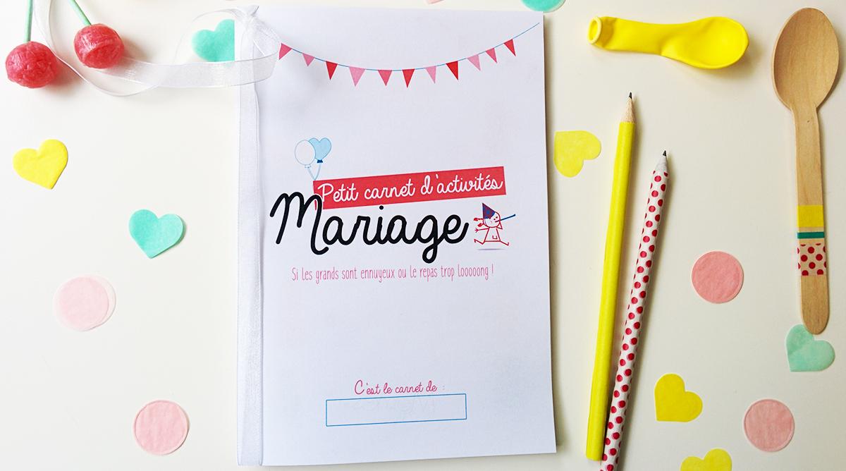 Le Livret De Coloriages Et Jeux Pour Enfant A Un Mariage Momes Net