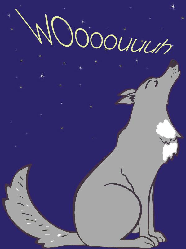 Comptine Le loup