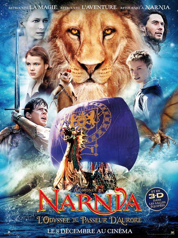 Affiche Le Monde de Narnia 3: L'Odyssée du Passeur d'Aurore