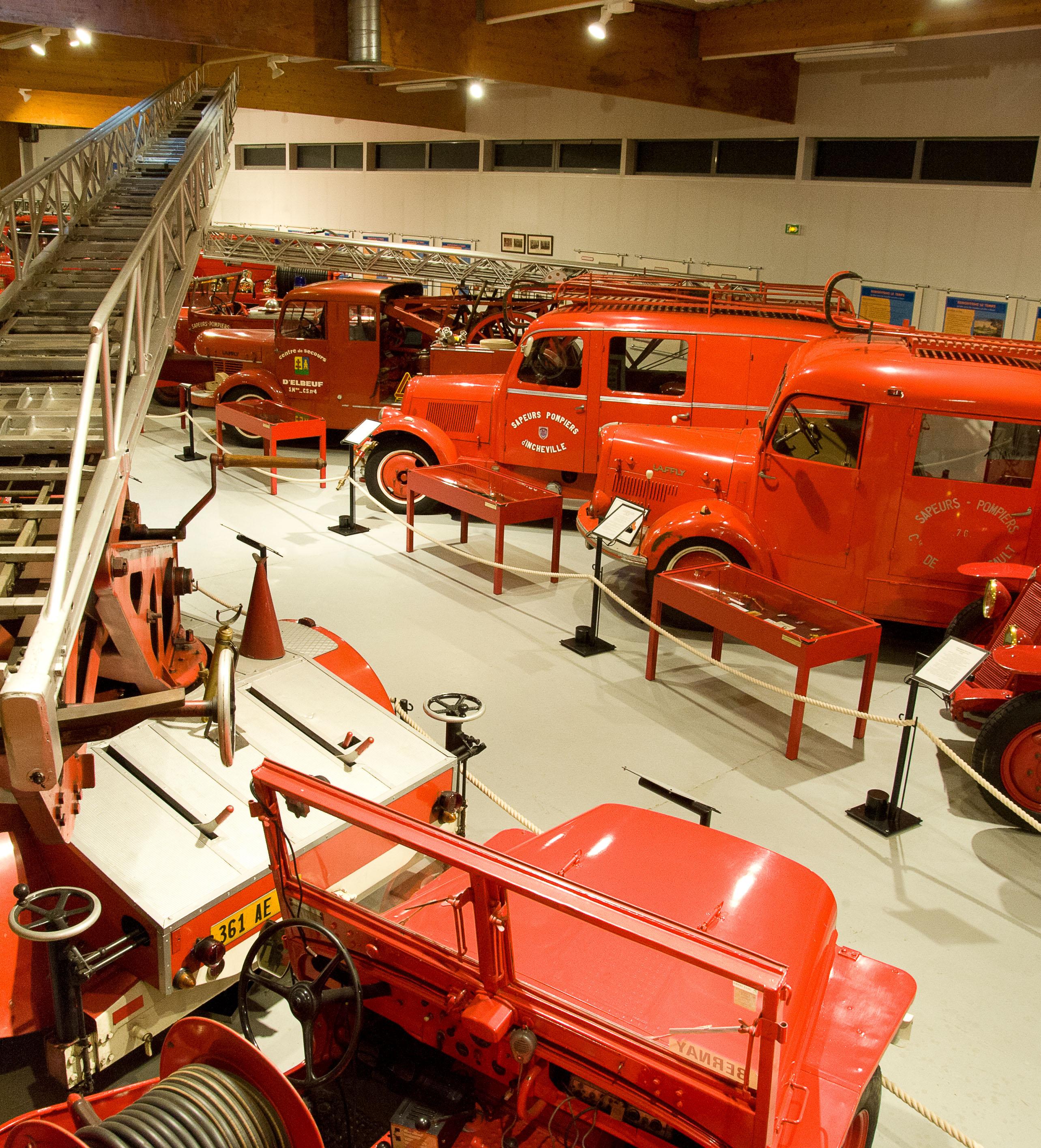 Photo Le musée des Sapeurs-Pompiers de France