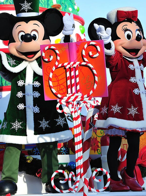 Le Noël enchanté à Disneyland