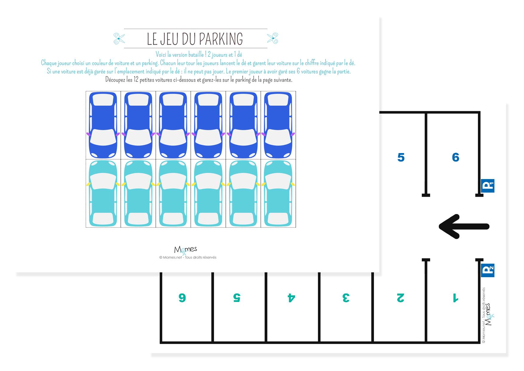 le p 39 tit jeu du parking. Black Bedroom Furniture Sets. Home Design Ideas