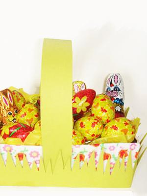 Le panier de Pâques
