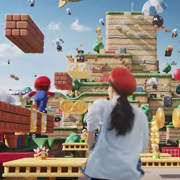 parc d'attractions Super Nintendo World au Japon sera super technologique