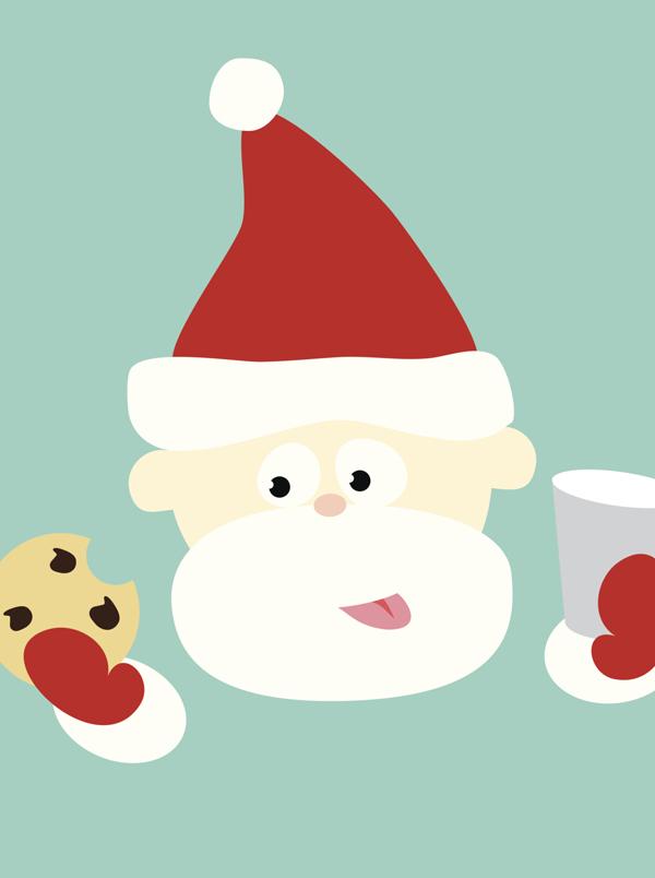 Comptine Le père Noël est enrhumé