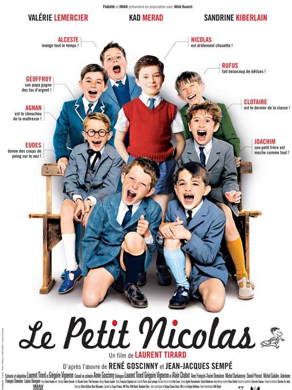 Affiche Le Petit Nicolas : le film