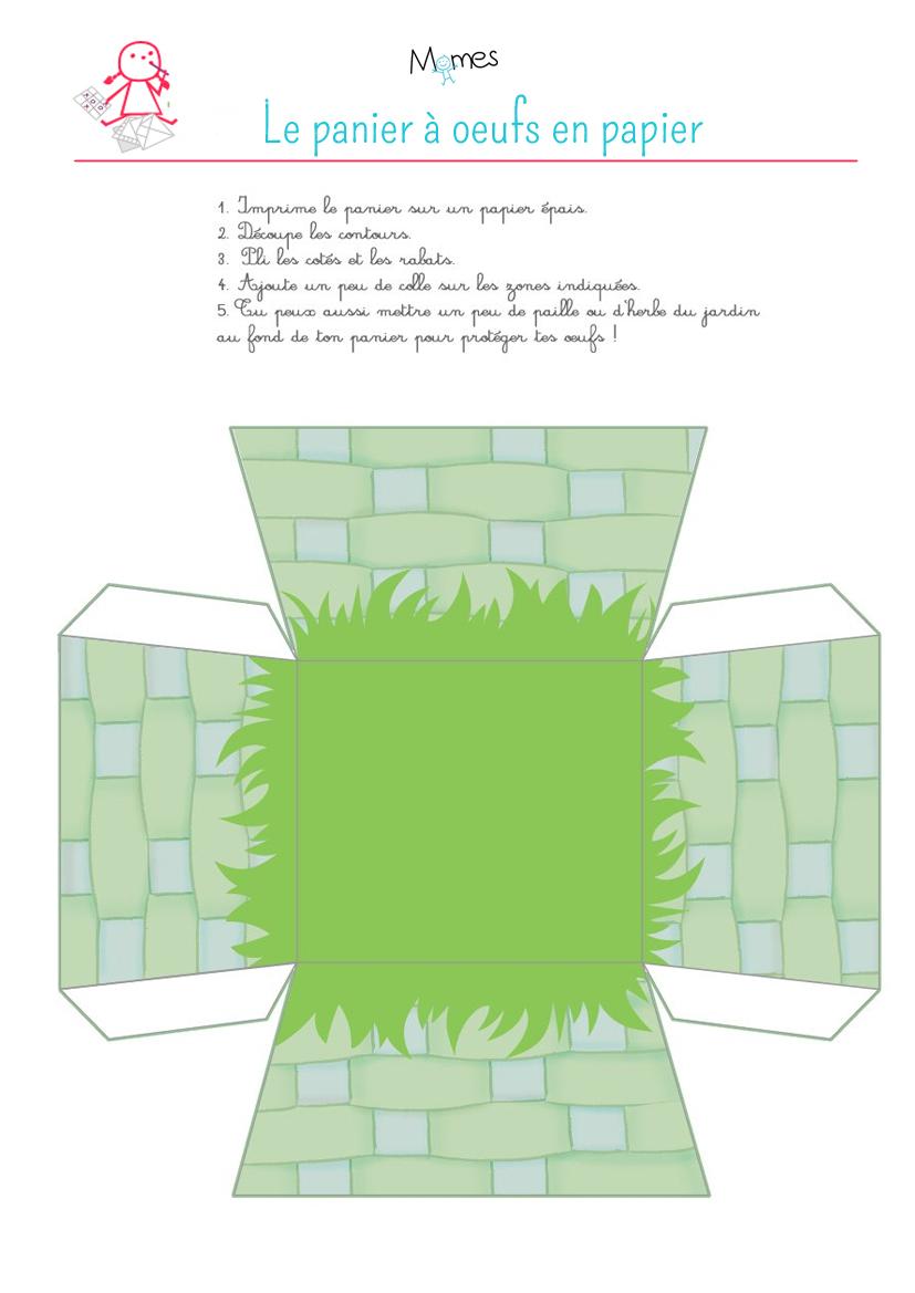 le petit panier en papier. Black Bedroom Furniture Sets. Home Design Ideas