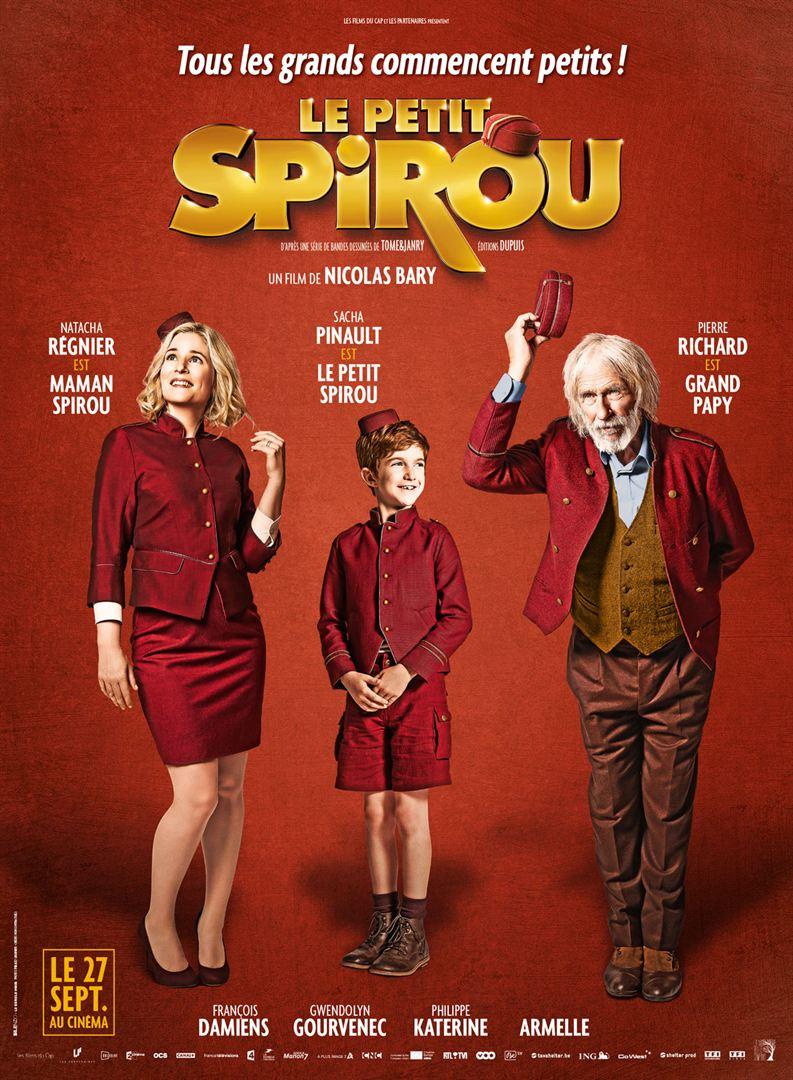 Le Petit Spirou, affiche