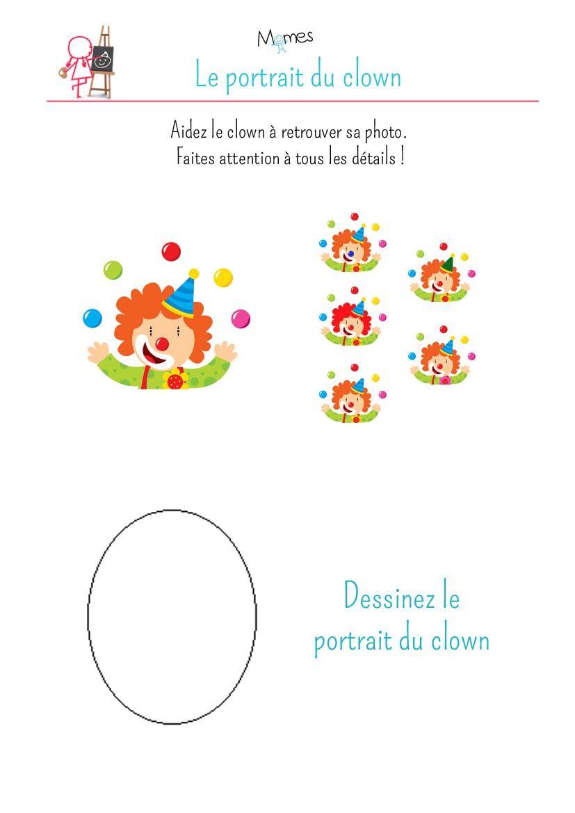 Le photomaton du clown - Photo de clown a imprimer ...
