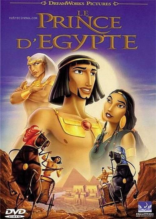 Affiche Le prince d'Egypte