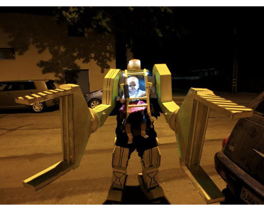 robot Power Loader Aliens déguisements enfants halloween