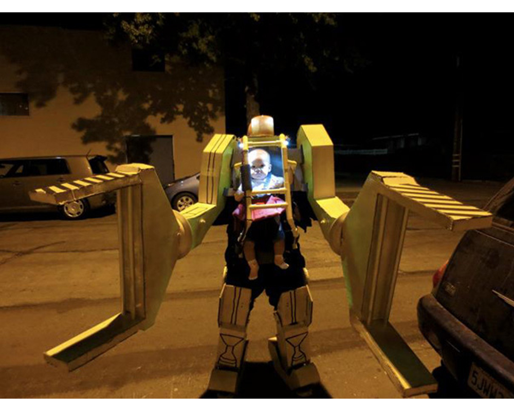 robot Power Loader Aliens déguisements enfants halloween