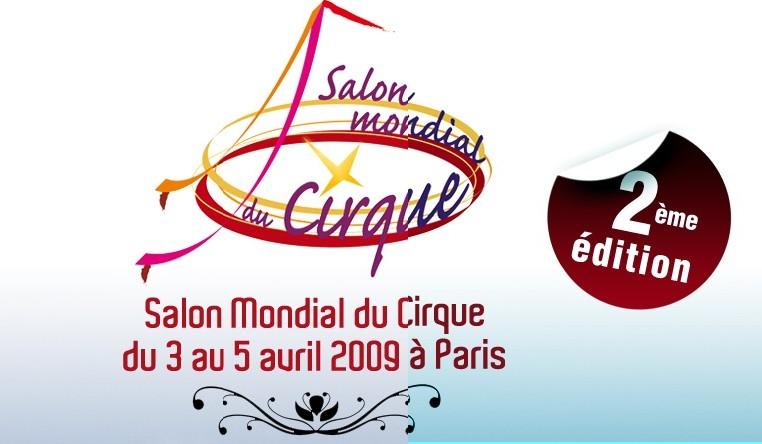 Affiche Le salon mondial du cirque