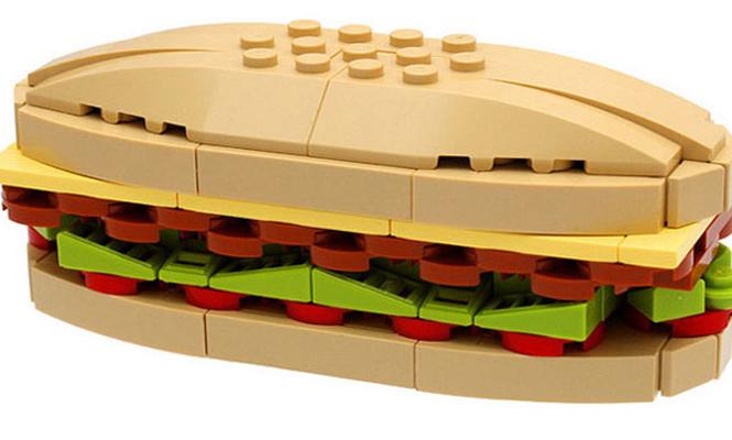 Le sandwich LEGO