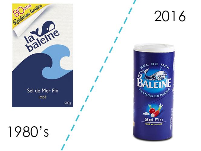 Le sel de table La Baleine