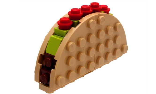 Le taco LEGO