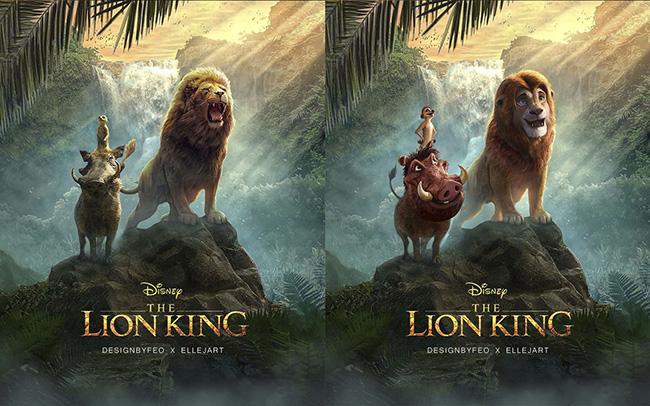 Le Roi Lion Quand Un Fan Revisite Le Film Dans Le Style De L