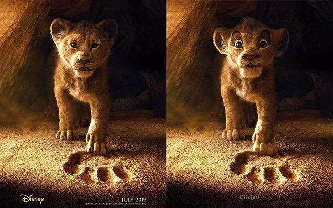 Le Roi Lion Quand Un Fan Revisite Le Film Dans Le Style De