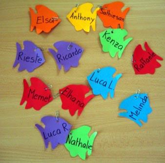 Lecture en jeu : la pêche aux prénoms