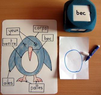 Lecture en jeu : le pingouin