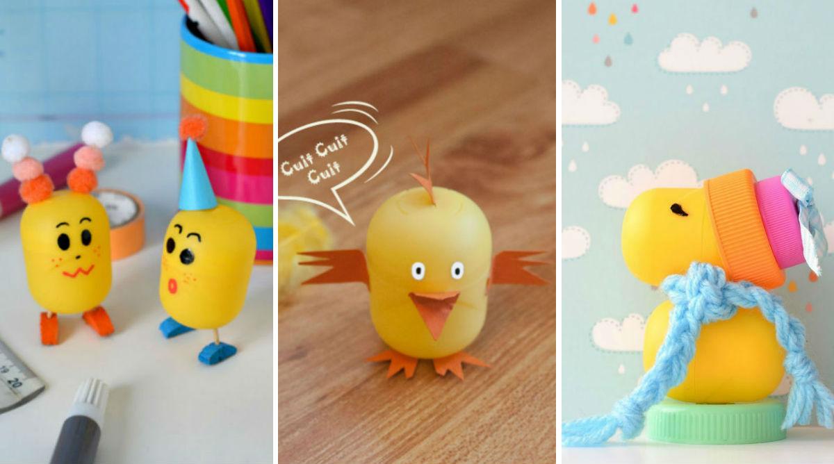 Les 15 plus beaux bricolages avec des œufs Kinder Surprise