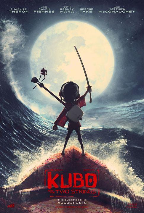 les affiches du film Kubo et l'épée magique