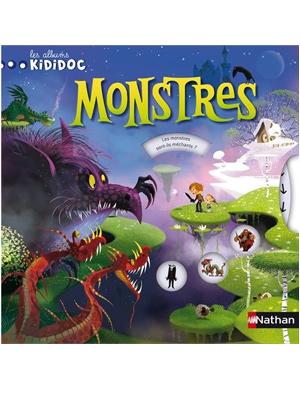 Les albums Kididoc : Monstres