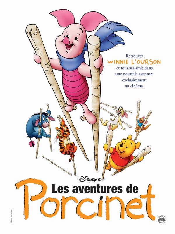 Affiche Les aventures de Porcinet