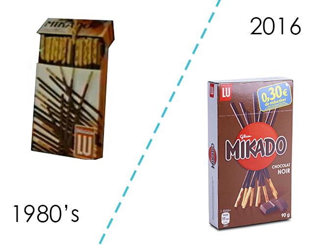 Les bâtonnets au chocolat Mikado