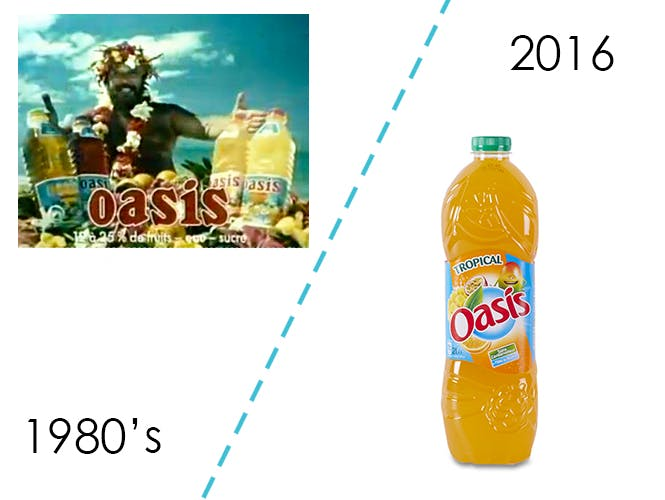 Les boissons aux fruits Oasis