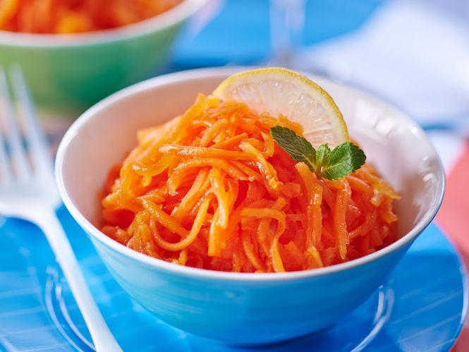 Les carottes rappées en trompe l'oeil