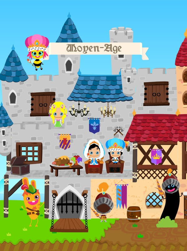 Questionnaire sur les châteaux et les guerres du Moyen Age