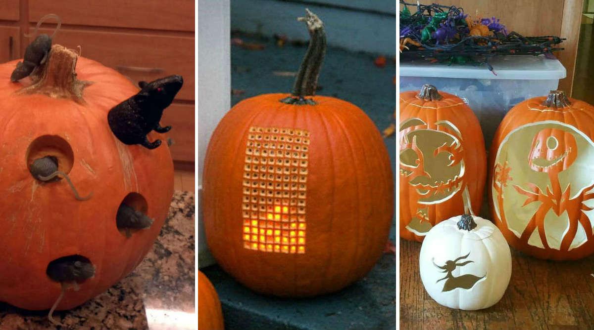 Les citrouilles d'Halloween les plus incroyables  !