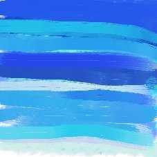 Les différents bleus du ciel
