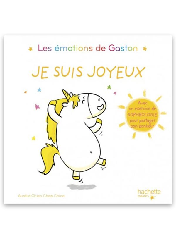 Les émotions de Gaston : Je suis joyeux