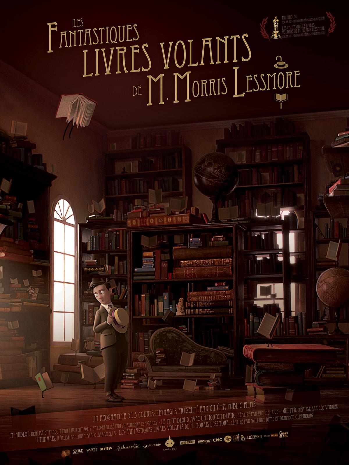Affiche Les Fantastiques livres volants de M. Morris Lessmore