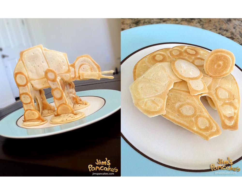 crêpes rigolotes Star Wars chandeleur mardi gras carnaval